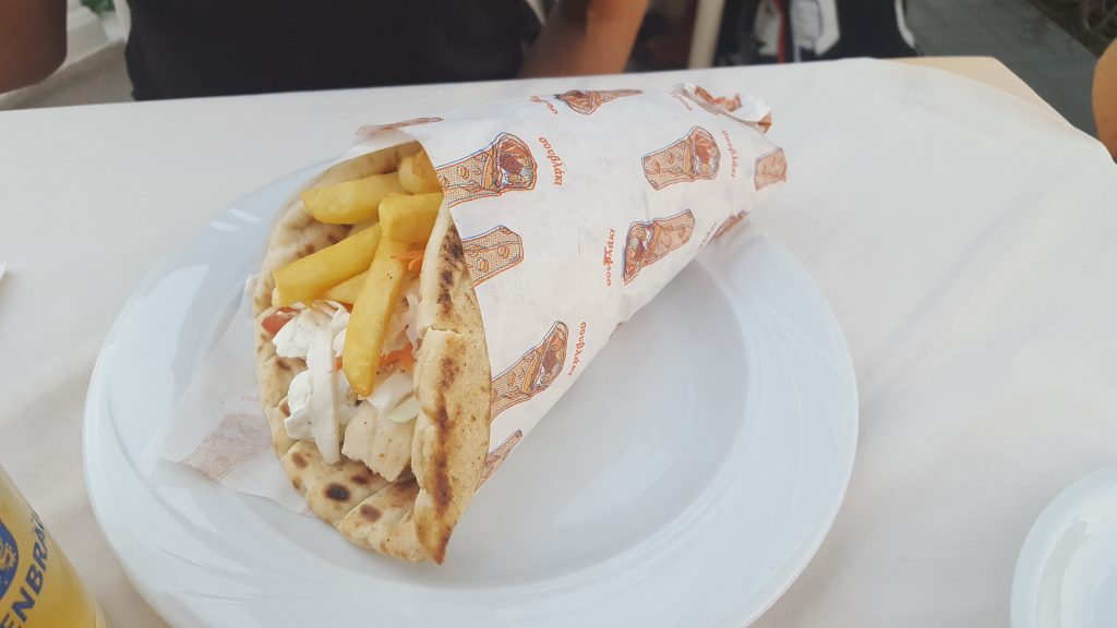 Things to do in Zante - Greek food