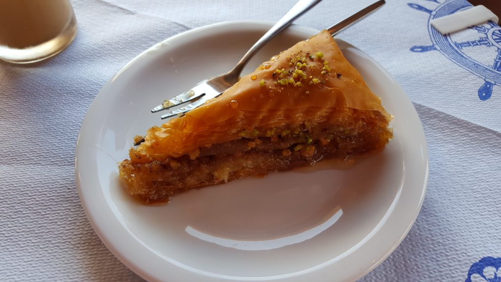 Things to do in Zakynthos - Try Greek food - baklava