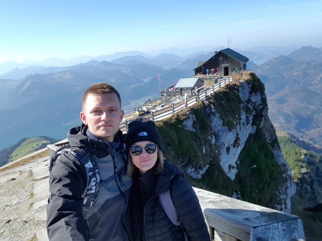 things to do in Austria -Schafberg views