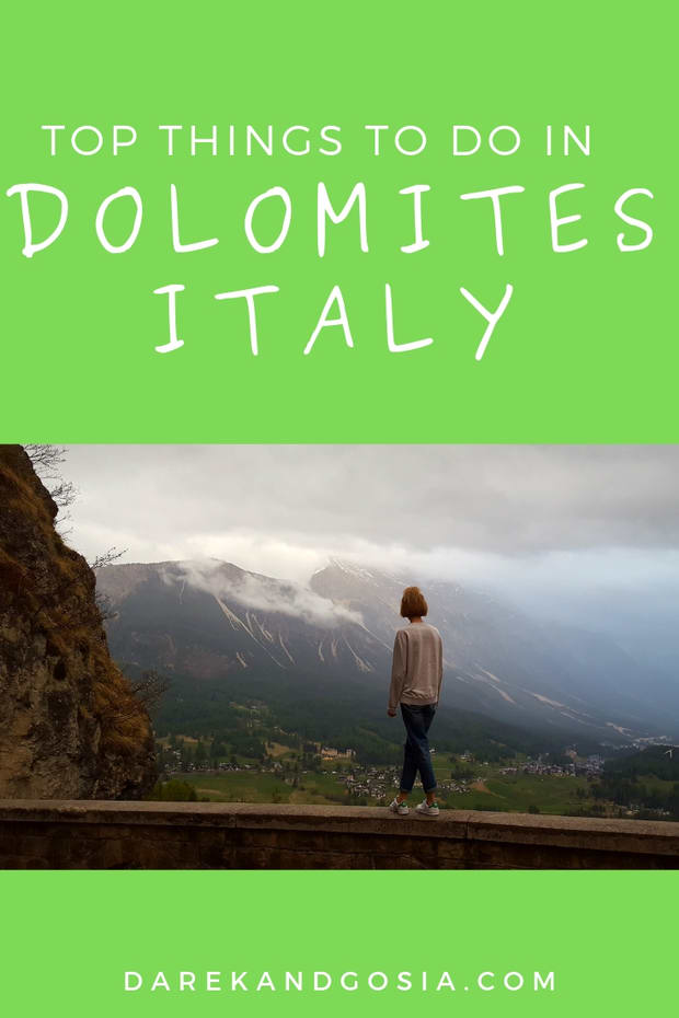 Dolomites Italy things to do