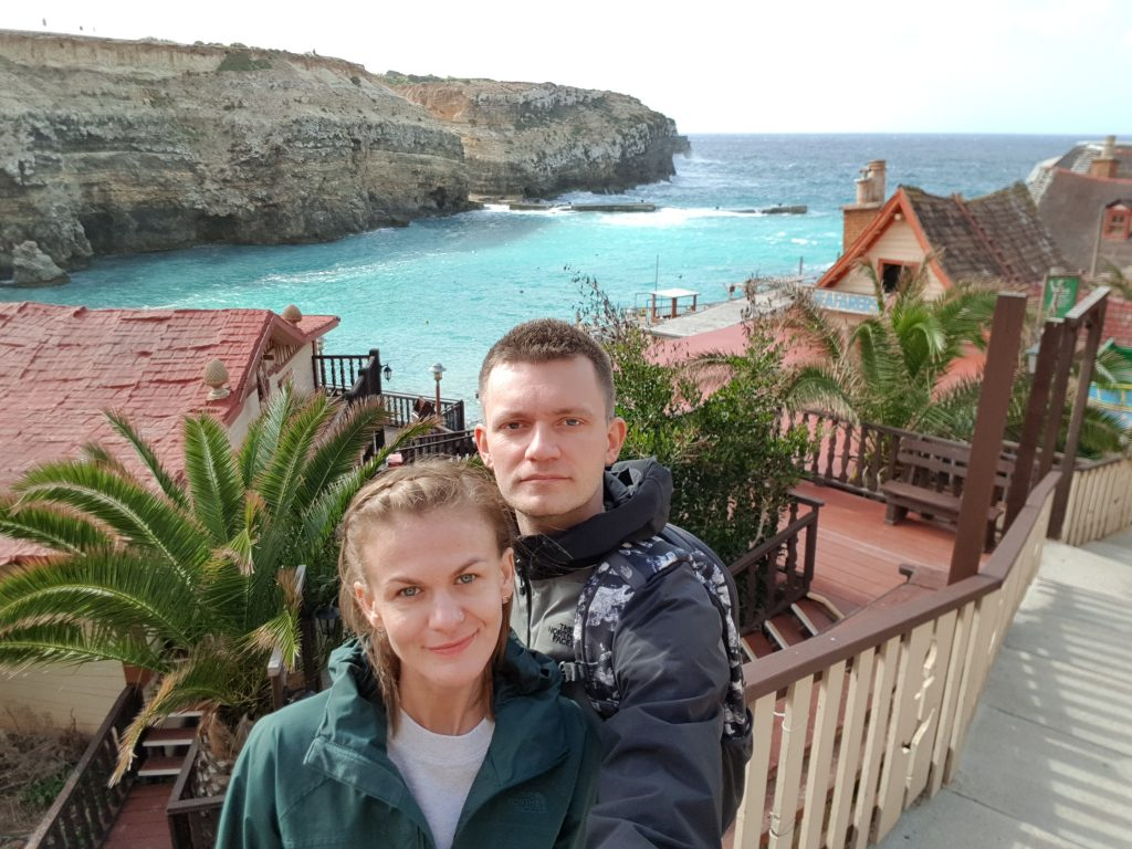 Best things to do in Malta and Gozo - Eat spinach at Popeye Village Malta