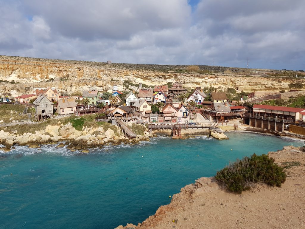 Best things to do in Malta and Gozo - Eat spinach at Popeye Village, Malta
