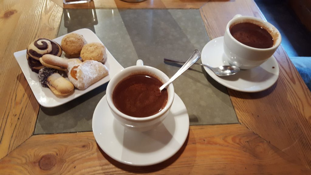 Dolomites Italy things to do - Have a coffee in Santa Caterina