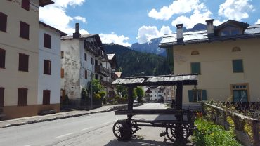 Dolomites Italy things to do - Have a coffee in Santa Caterina Italy