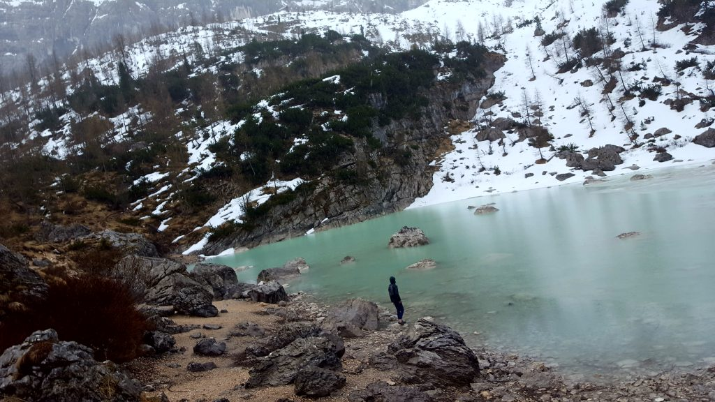 Dolomites Italy things to do - Hike to Lago di Sorapiss Domomites