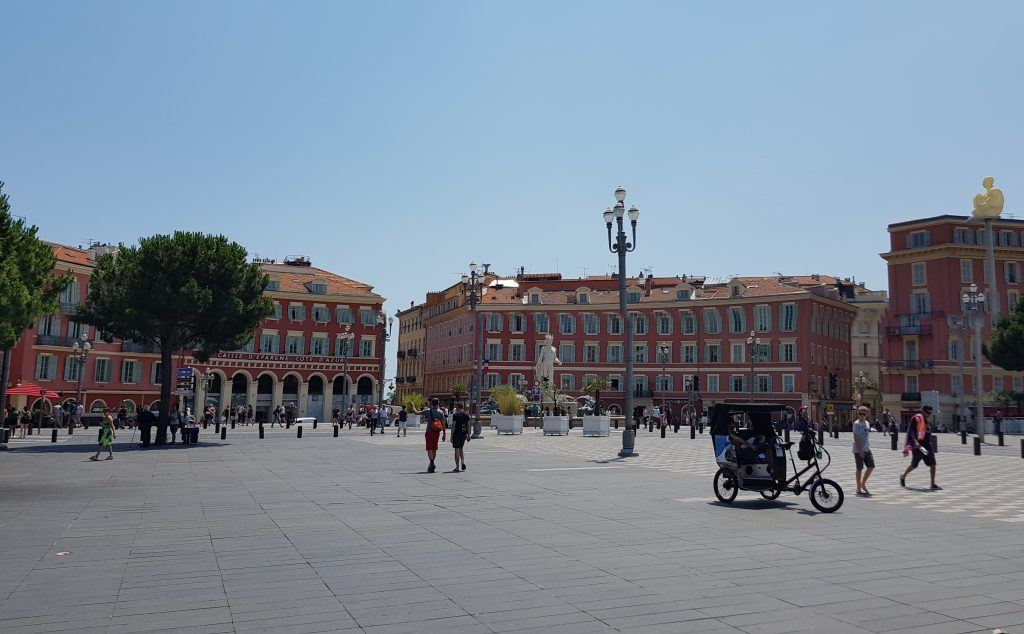 French Riviera things to do - Best things to see in Nice - Place Massena