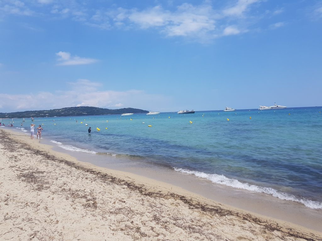 French Riviera things to do Feel like a VIP at Plage de Pampelone French Riviera