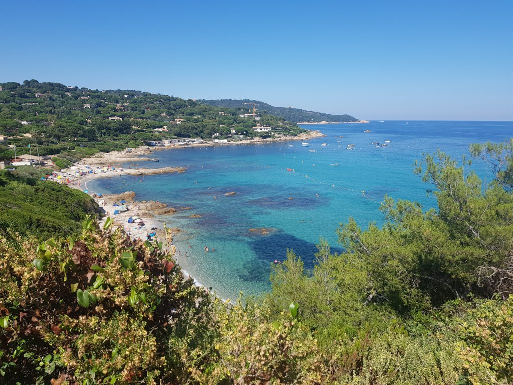 French Riviera things to do Swim in the turquoise water of Plage de l'Escalet