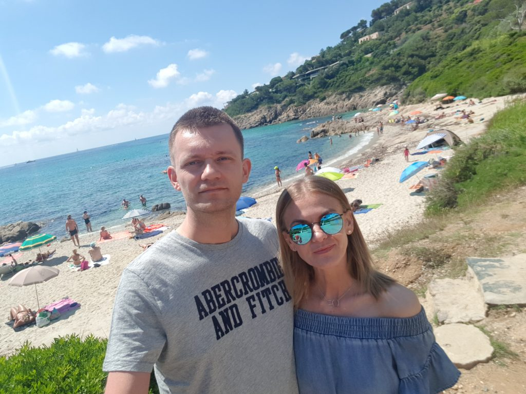 French Riviera things to do Swim in the turquoise water of Plage de l'Escalet France