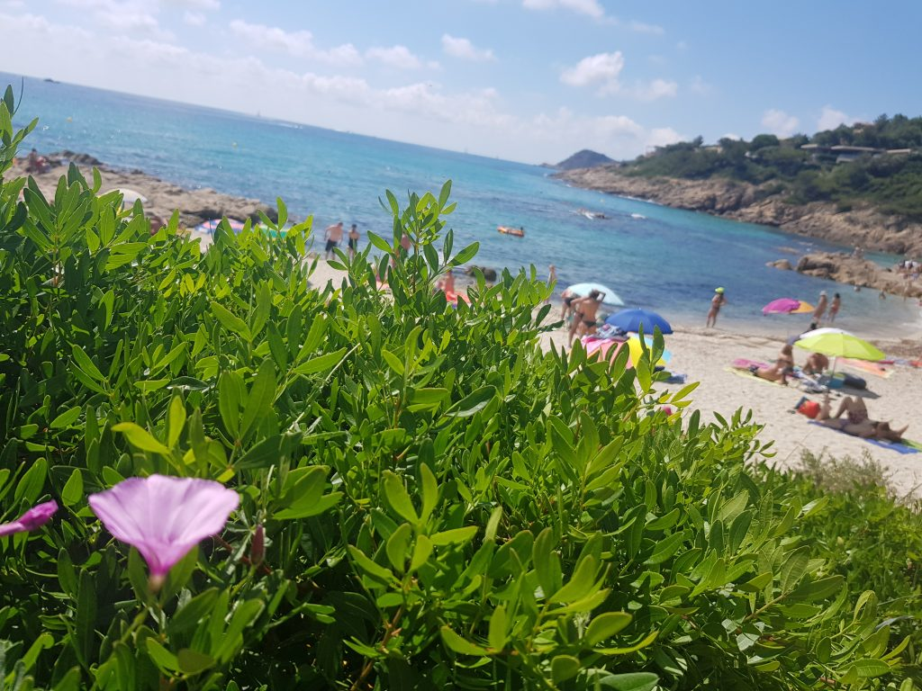 French Riviera things to do Swim in the turquoise water of Plage de l'Escalet French Riviera