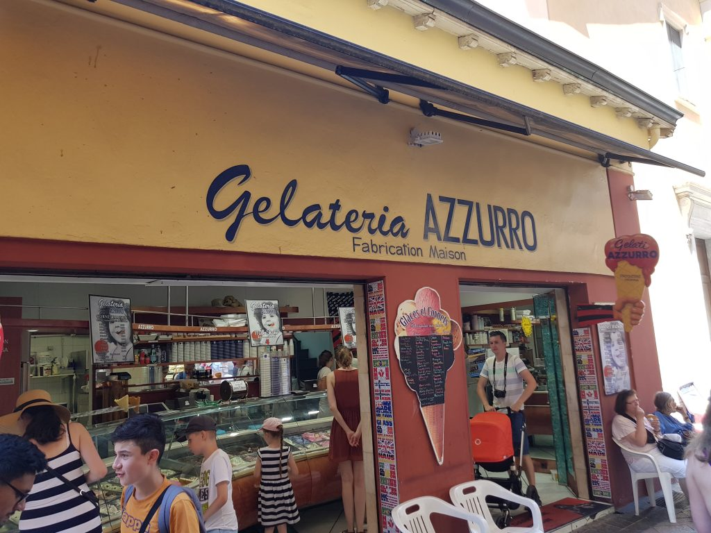 French Riviera things to do Things to see in Nice - Gelateria AZZURRO