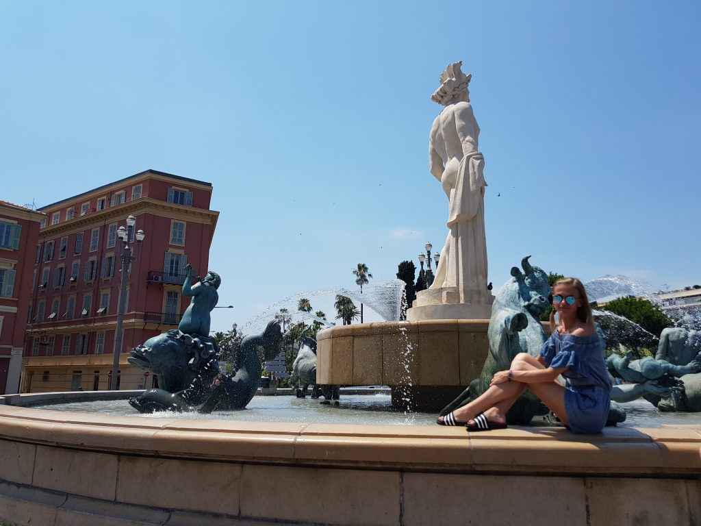 French Riviera things to do Things to see in Nice - Place Massena