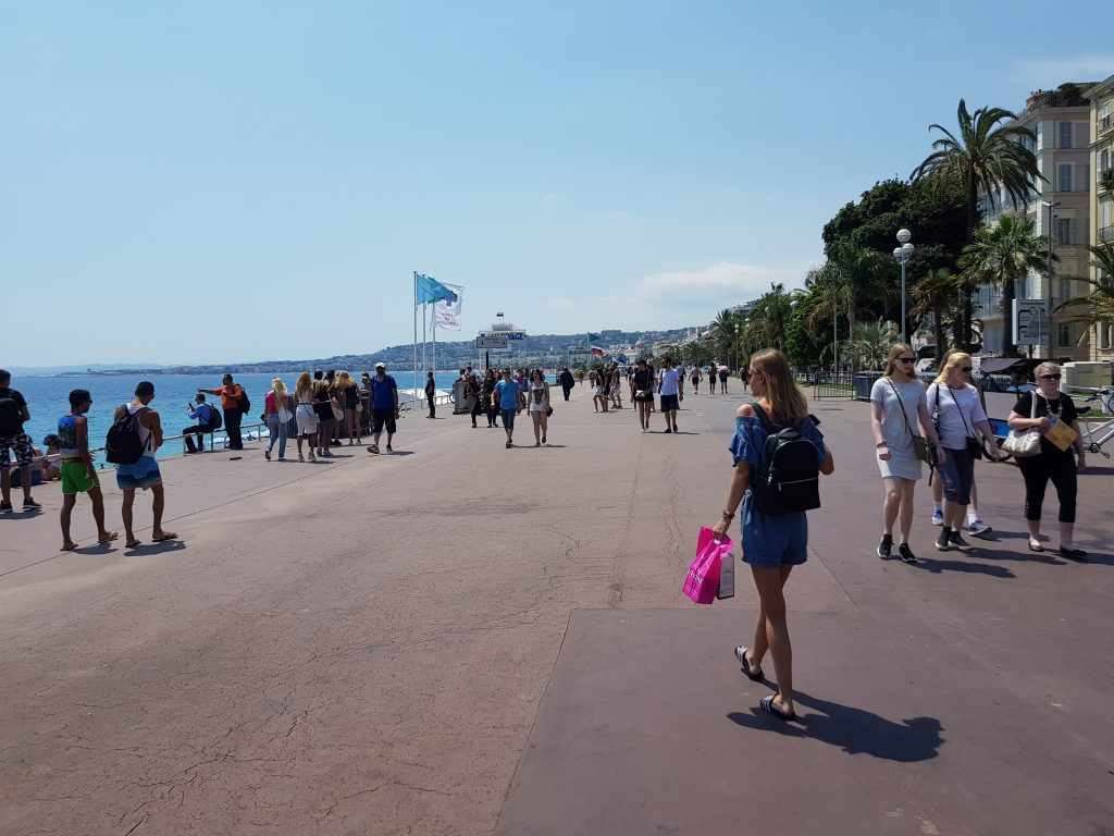 French Riviera things to do Things to see in Nice - Promenade des Anglais Nice