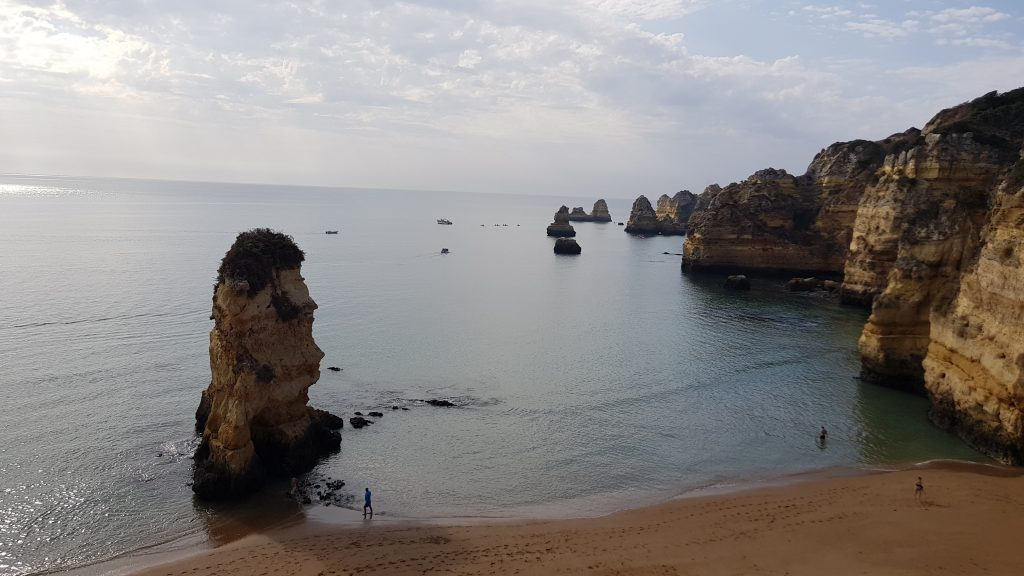 Best beaches in Algarve - Best beaches near LAGOS - Praia Dona Ana
