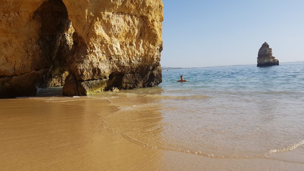 Best beaches in Algarve - Best beaches near LAGOS - Praia do Camilo Algarve