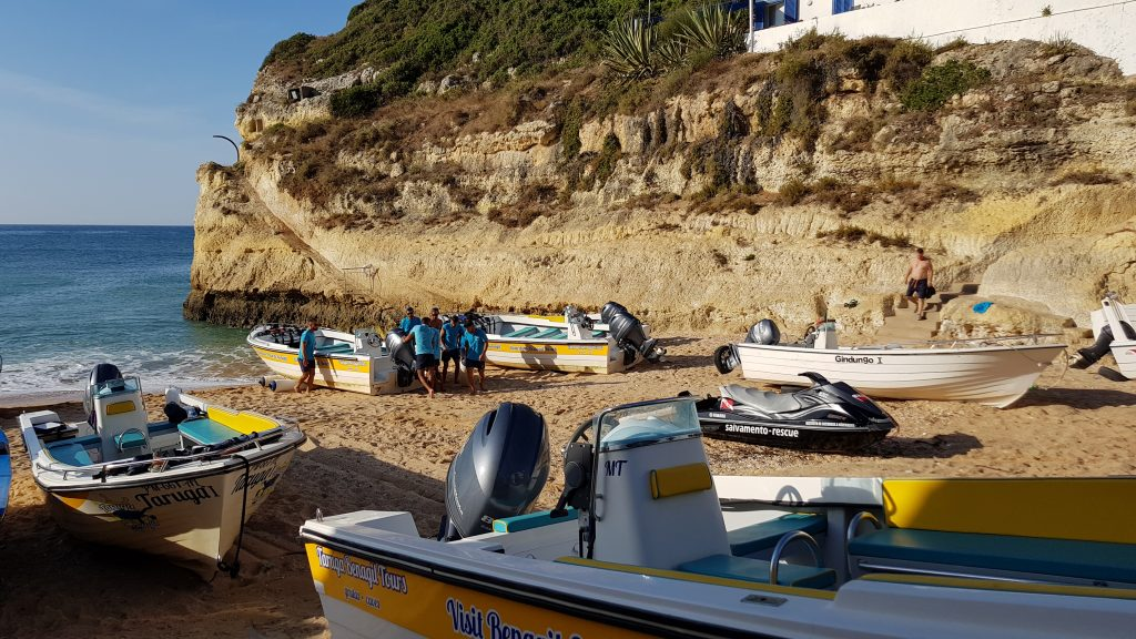 Things to do in Algarve - Boat trip to Benagil Cave Portugal