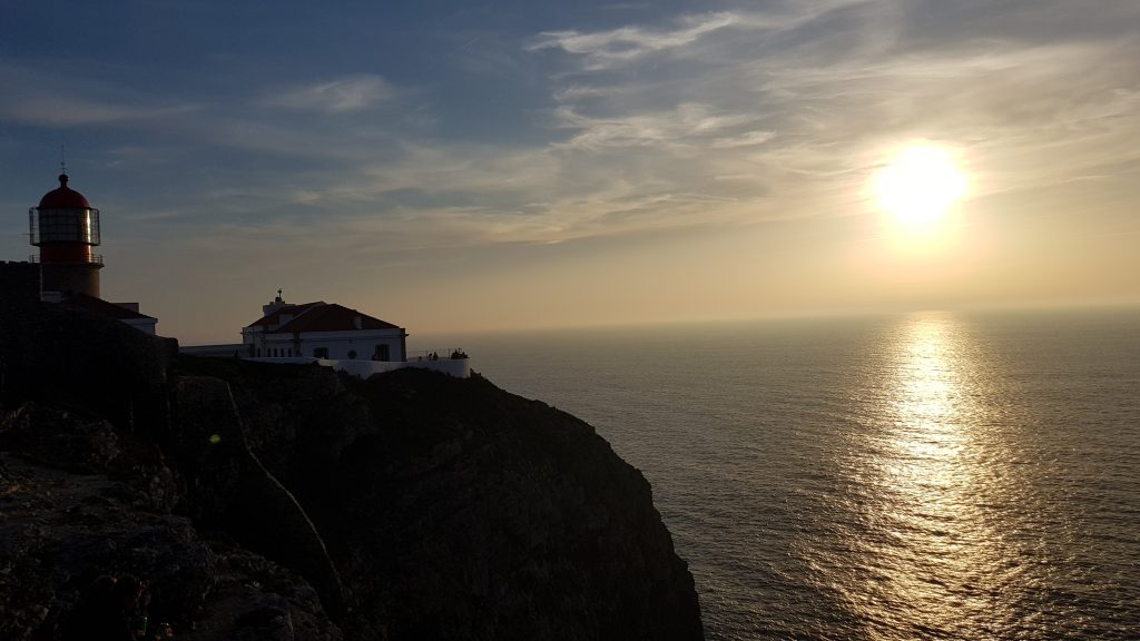 Things to do in Algarve - Cape Saint-Vincent - Best Sunset spot in Portugal.
