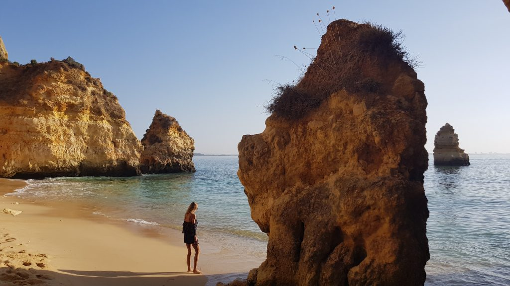 Top things to do in Algarve - Best beaches near LAGOS - Praia do Camilo