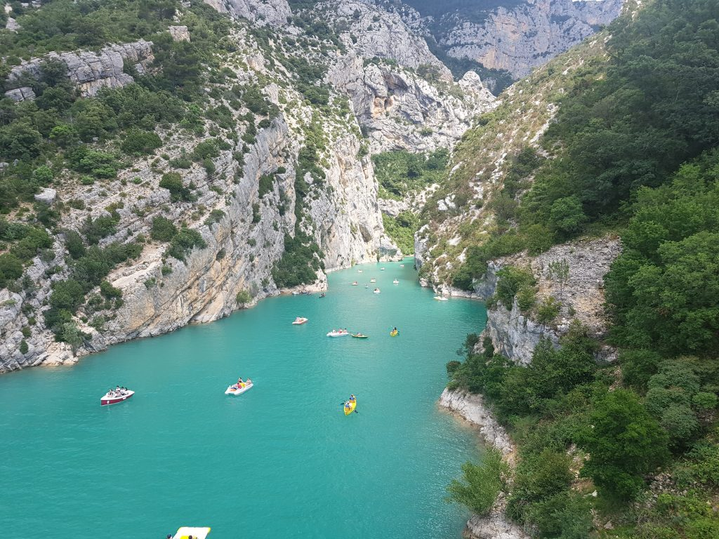Travel Bucket List Ideas - Go kayaking the Gorges du Verdon - south France