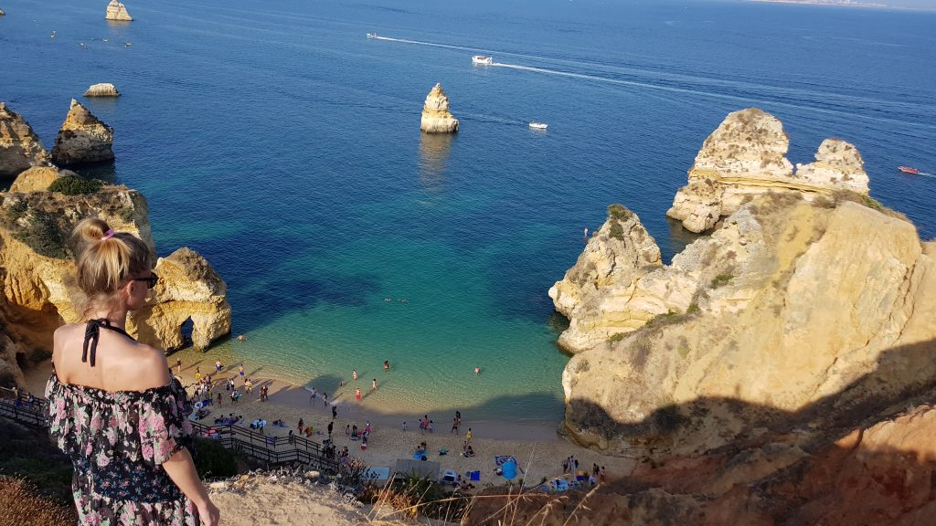 Travel Bucket List Ideas - Spend a day at Praia do Camilo Algarve Portugal