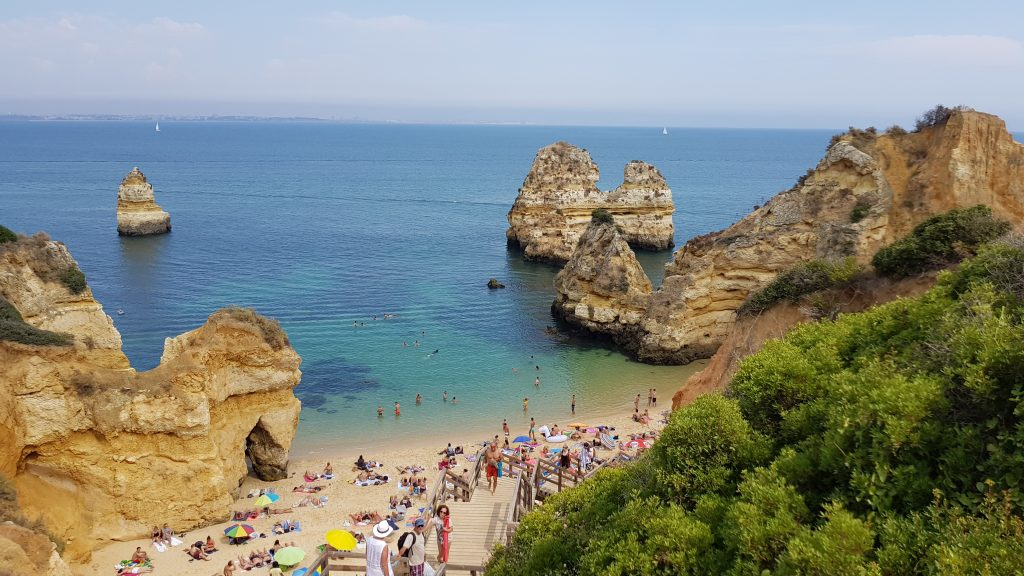 Travel Bucket List Ideas - Spend a day at Praia do Camilo Portugal