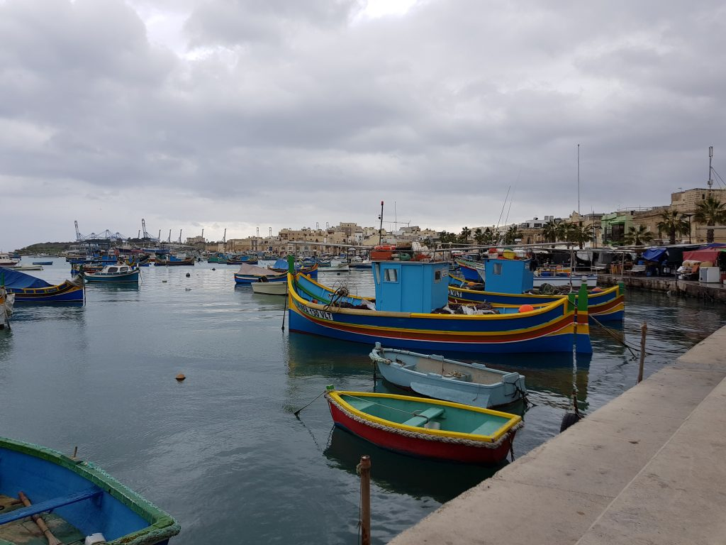Bucket List Ideas - Take a colourful picture in Marsaxlokk - Malta
