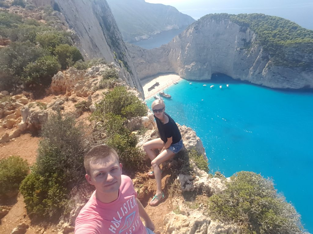 Travel Bucket List Ideas - Take a selfie at Navagio Beach Greece