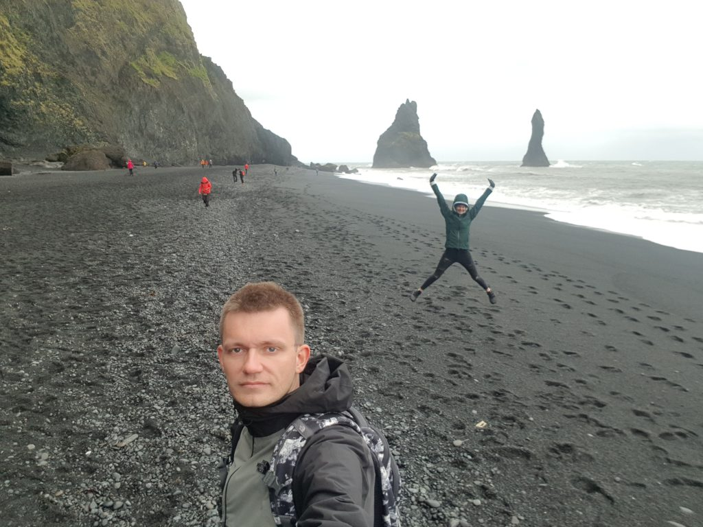 Visit Iceland - Why we REGRET visiting Iceland - The sand is dirty and all the beaches are black