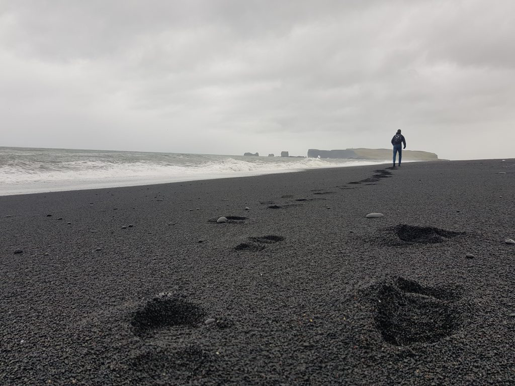 Visit Iceland - Why we REGRET visiting Iceland - The sand is dirty and all the beaches are black!