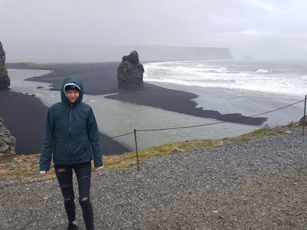 Visit Iceland Why we REGRET visiting Iceland - The sand is dirty and all the beaches are black.