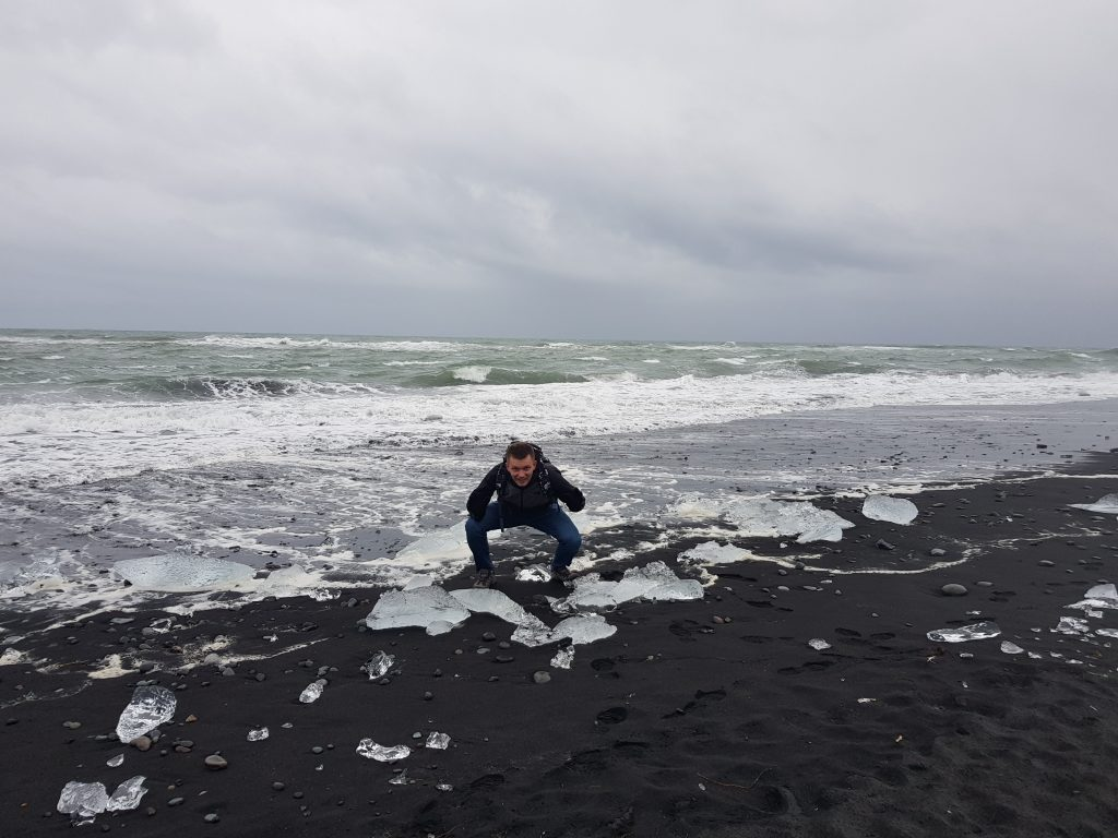 Visit Iceland Why we REGRET visiting Iceland - Very disappointing trip to Diamond Beach.