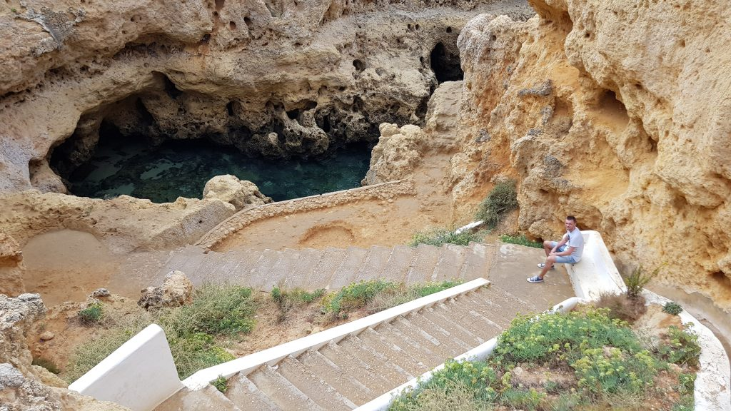 Best things to do in Algarve Portugal - Algar Seco