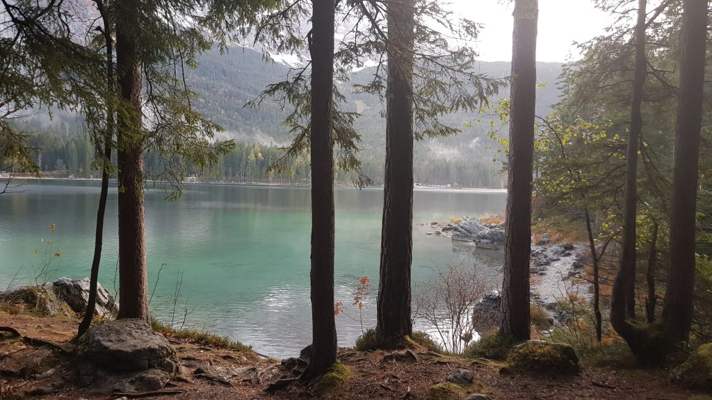 Eibsee Lake -Bavaria Germany -worth to visit