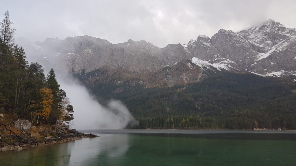 Eibsee Lake in Bavaria Germany -worth to visit