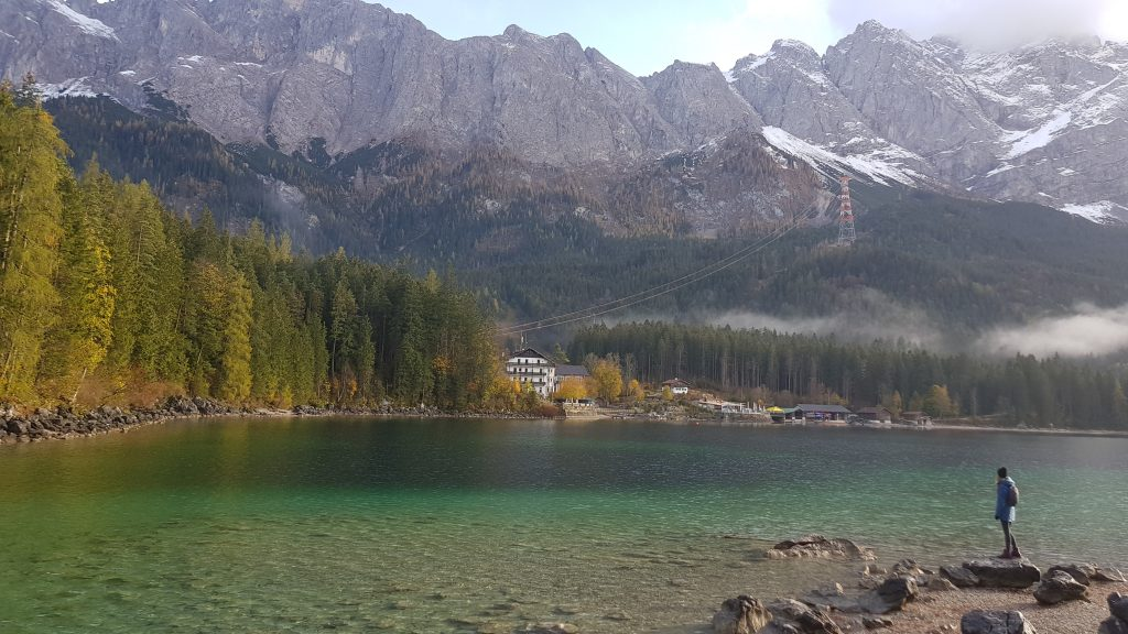 Eibsee Lake in Bavaria -hike around the lake