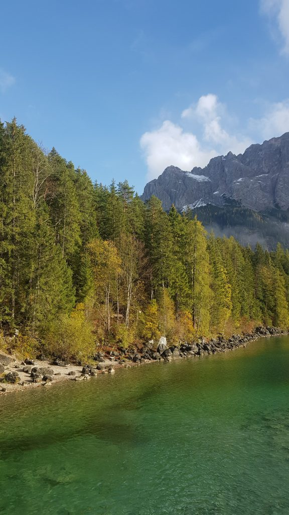 Eibsee Lake in Bavaria -hike around the lake -Germany Bucket List