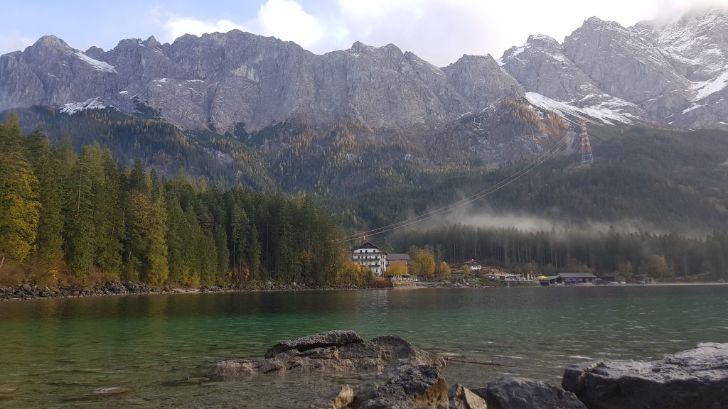 Eibsee Lake in Bavaria -hike around the lake -fabulous views