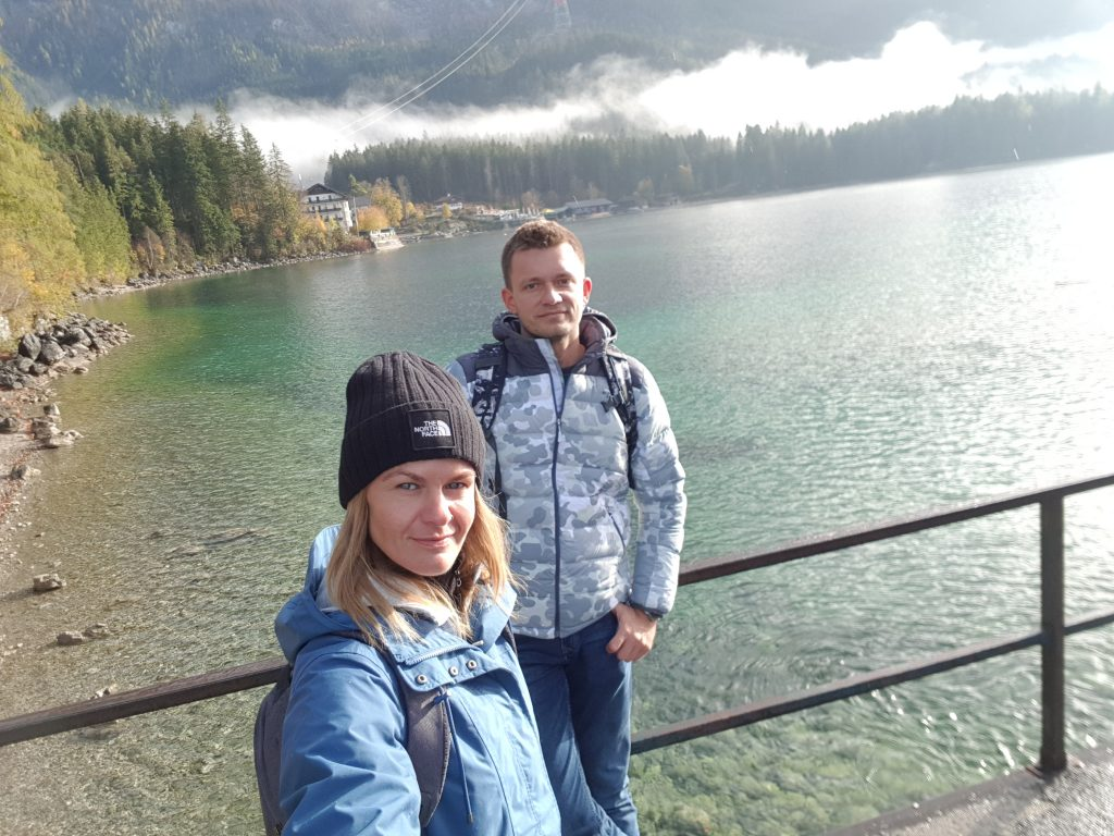 Eibsee Lake in Bavaria -hike around the lake -fabulous views Germany