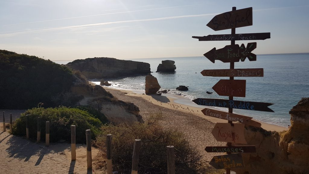 Best beaches near ALBUFEIRA - Praia de Sao Rafael Algarve PT
