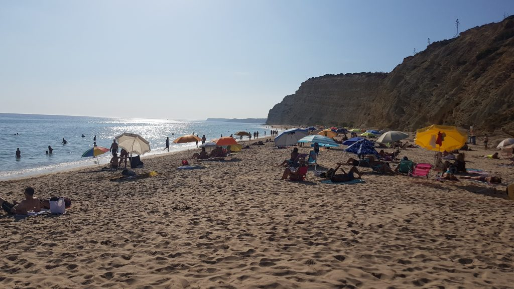Things to do in Algarve - Best beaches near LAGOS - Praia de Porto de Mós