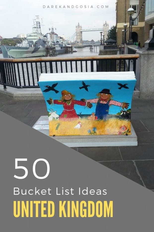 50 Bucket List Ideas - Things to do in the UK