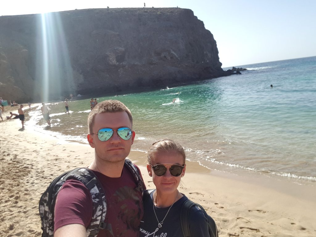 Best things to do in Lanzarote - Papagayo Beach Spain