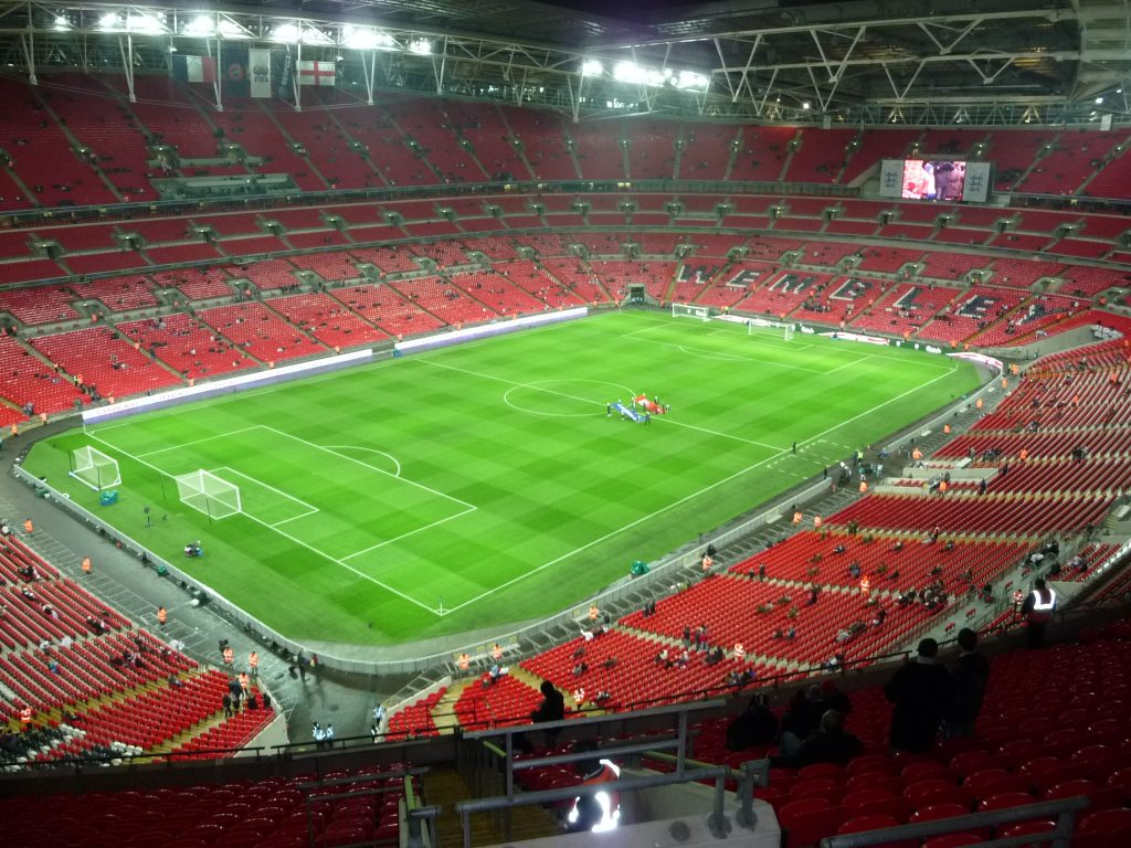 Bucket List Ideas UK - Wembley Stadium - things to do in the UK