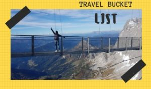 TRAVEL BUCKET LIST IDEAS
