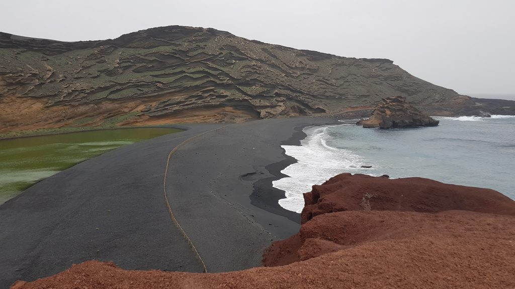 Things to do in Lanzarote - Charco de Los Clicos - Green Lagoon
