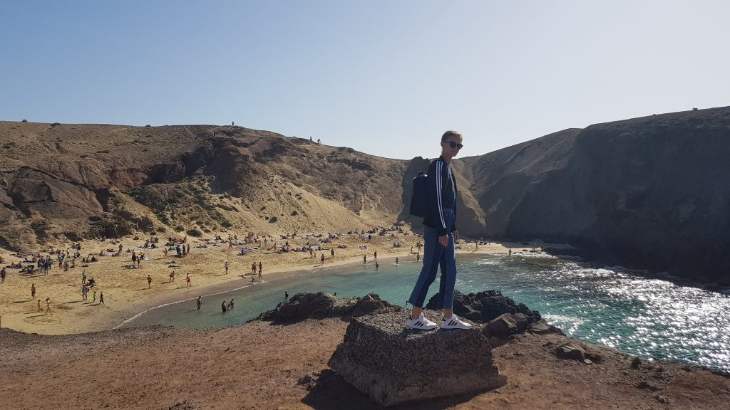 Things to do in Lanzarote - Papagayo Beach Spain