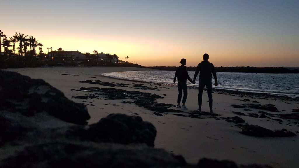Things to do in Lanzarote - Playa Flamingo Beach Spain