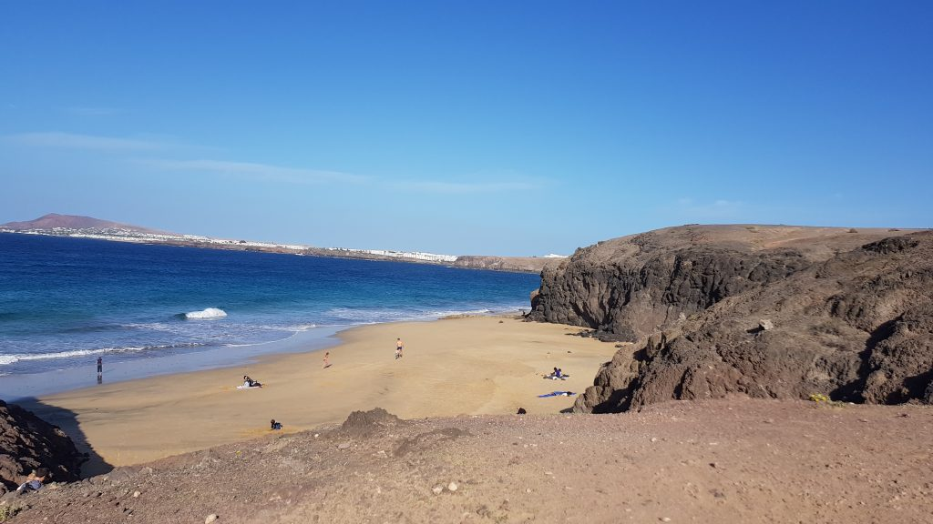 Things to do in Lanzarote - Playa de la Cera Beach