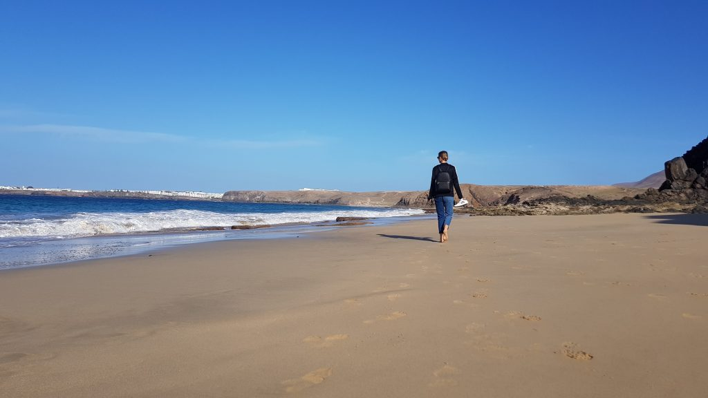 Things to do in Lanzarote - Playa de la Cera Beach Spain