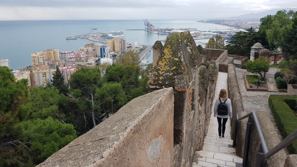 Things to do in Malaga Spain - Castillo Gibralfaro